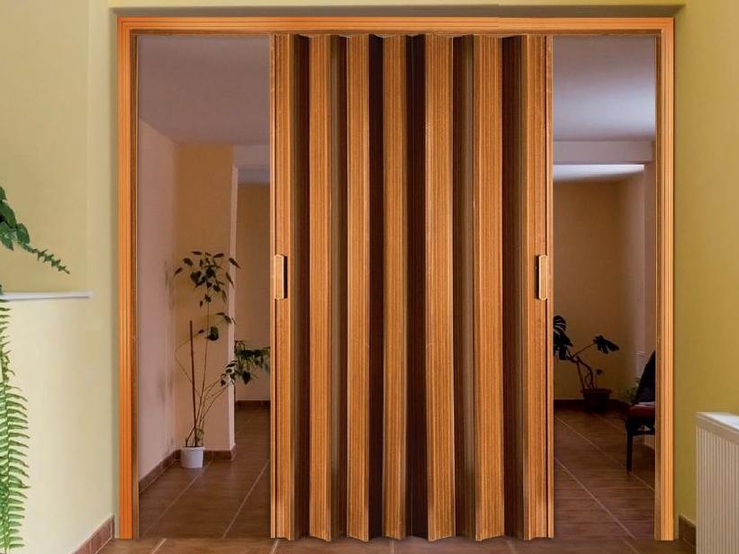 Portas sanfonadas de pvc em goi nia onde encontrar for Puerta corrediza externa